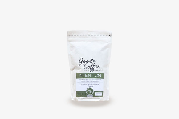 INTENTION - Light Roast Coffee from Burundi, Africa