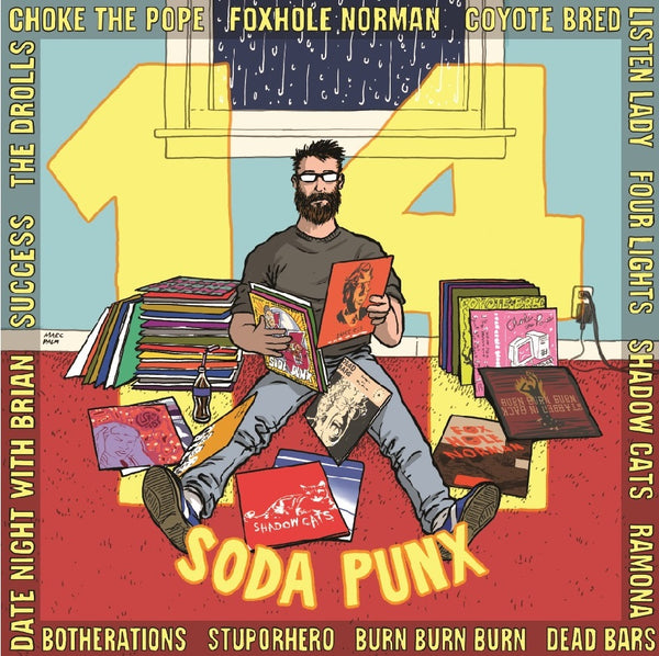 14 Soda Punx - Seattle Pop Punk Compilation LP Pre Order