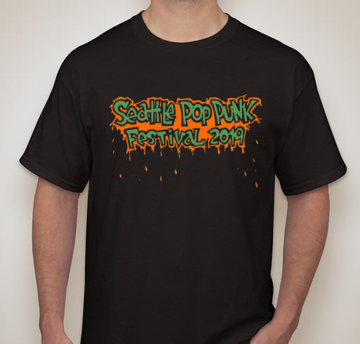 Seattle Pop Punk Festival 2019 T-Shirt