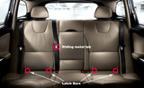 Dog Car Seat Belt Restraint - Chew-Proof Heavy Duty Car Seatbelt Tether