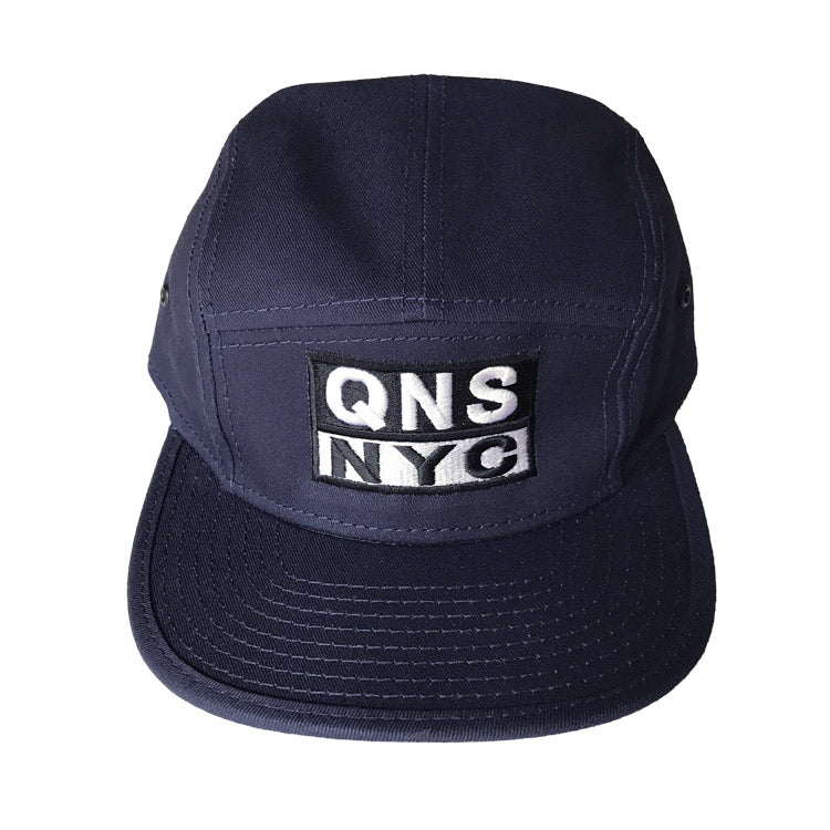 Queens Thread QNS NYC 5 Panel Camper Hat