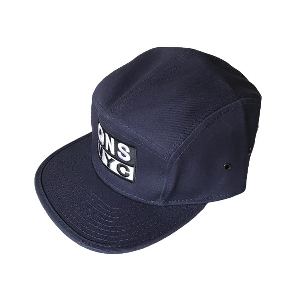 QNS NYC 5 Panel Hat - Navy