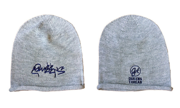Queens Graffiti Oversized Beanie