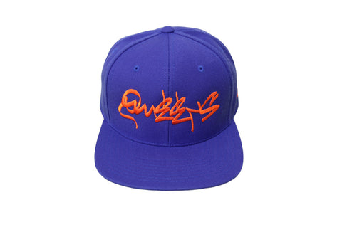 Queens Graffiti Metropolitan Hat - Flex Fit