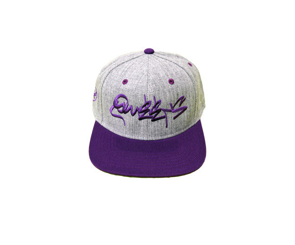 Queens Graff Classic Heather Snapback - Limited Edition Purple