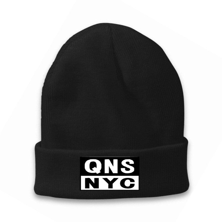 NEW! QNS NYC Beanie Hat - Classic Fold - 100% Made in USA