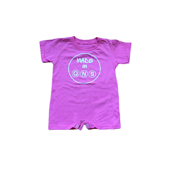 """Made in Qns"" Baby Romper"