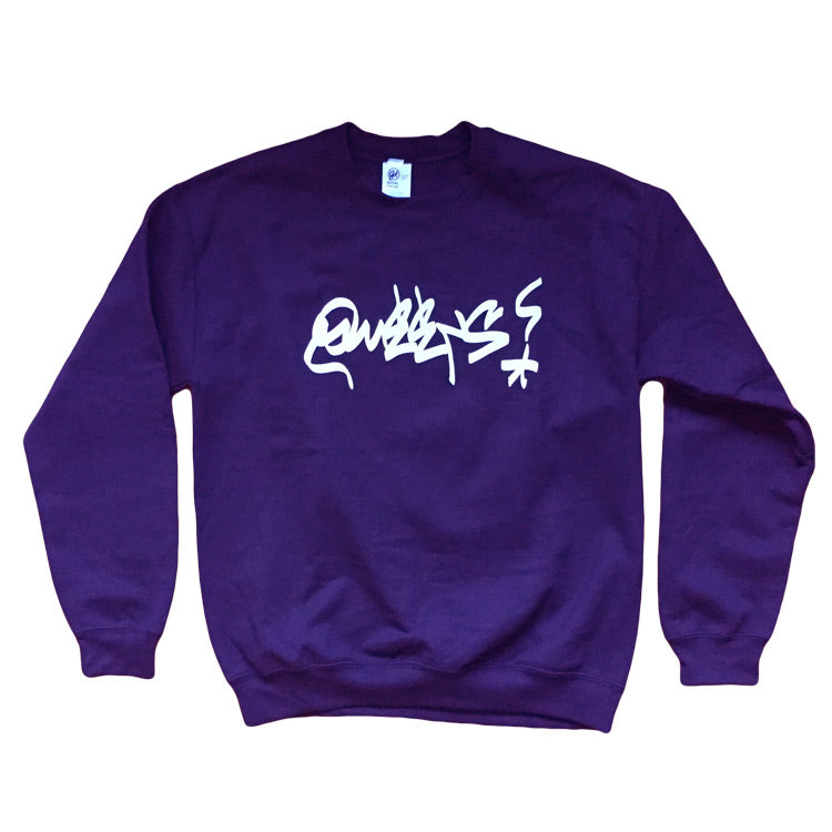 Queens Graffiti Crewneck Sweatshirt