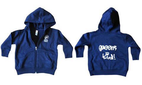 """Queens Kid!"" Infant Zip Up Hoodie"