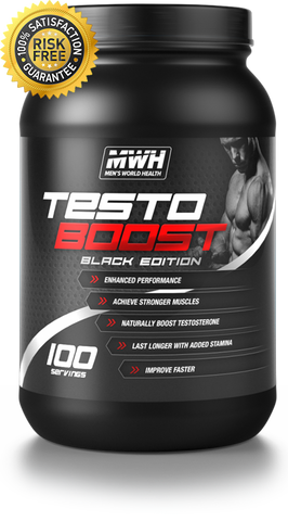 TESTO BOOST BLACK EDITION - Men's World Health