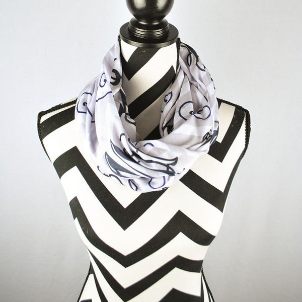 Adult Infinity Scarf - Style #14002 Chevron