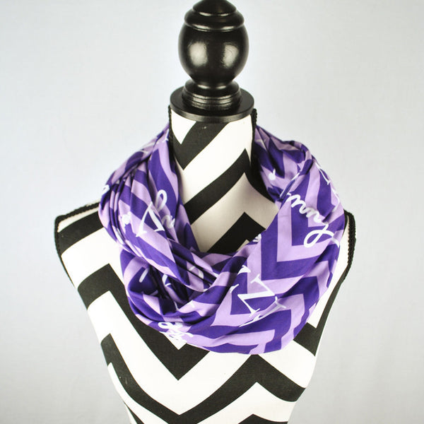 Adult Infinity Scarf - Style #14003 Chevron