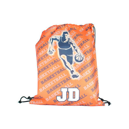 Drawstring Tote - Style #42008 Basketball Player Print