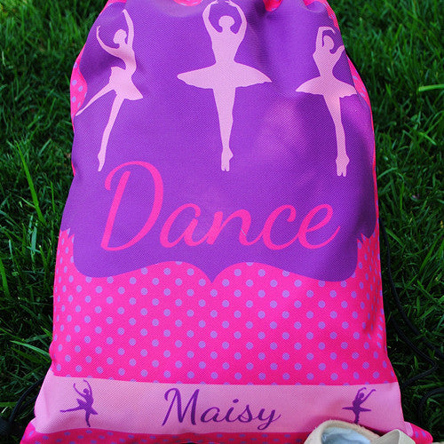 Drawstring Tote - Style #42019 Dance Print