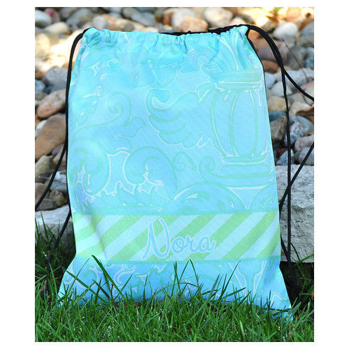 Drawstring Tote - Style #42025 Eleanor Print