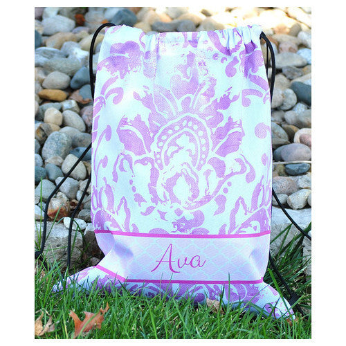 Drawstring Tote - Style #42027 Eleanor Print