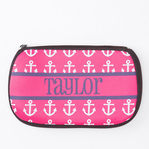 Neoprene Zip Bag - Style #517006 Anchor Print