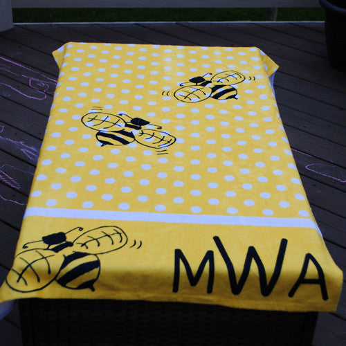 Beach Towel - Style #52008 Bee Print