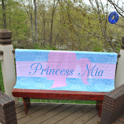 Beach Towel - Style #52034 Glass Slipper Print