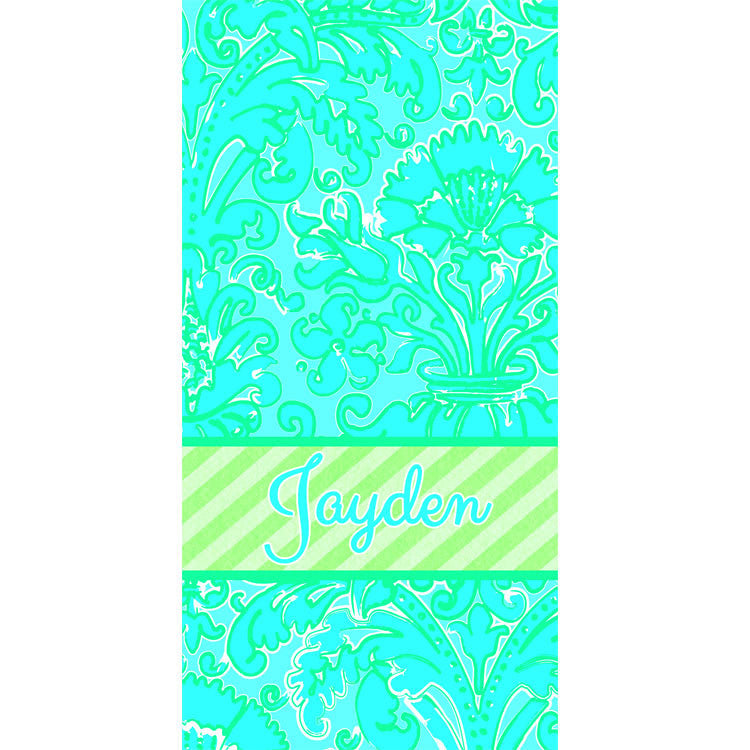 Beach Towel - Style #52099 Eleanor Print