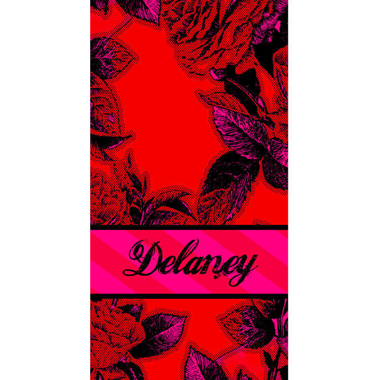 Beach Towel - Style #52103 Eleanor Print