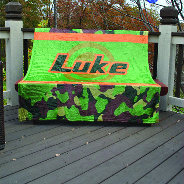 Fleece Throw Blanket - Style #56005 Camo Print