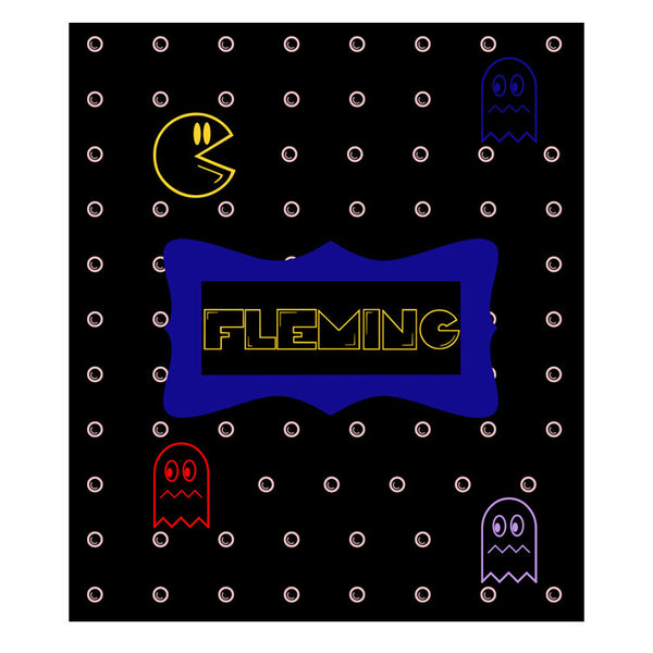 Fleece Throw Blanket - Style #56045 Gamer Print