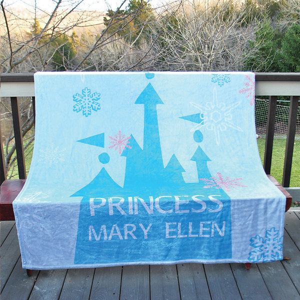 Fleece Throw Blanket - Style #56050 Princess Print