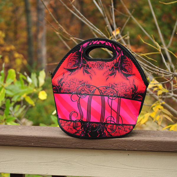 Lunch Tote - Style #49022 Eleanor Red Print