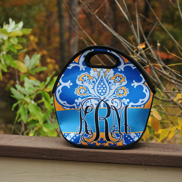 Lunch Tote - Style #49024 Eleanor Royal Print