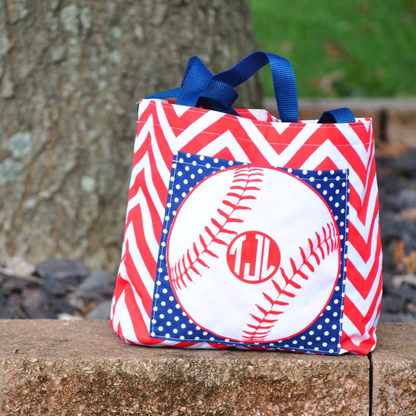 Pocket Tote - Style #411009 Gameday Print