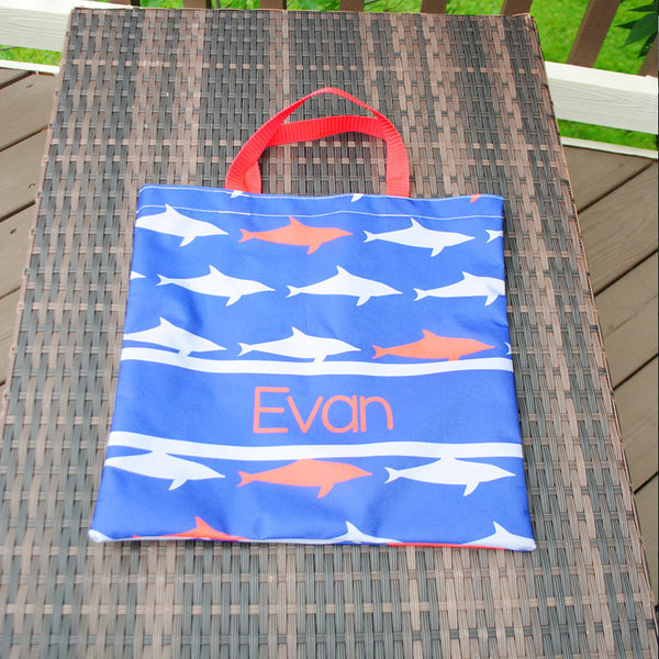 Everyday Tote - Shark Print