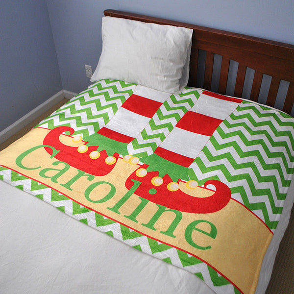 Fleece Throw Blanket - Style #56071 Holiday Print