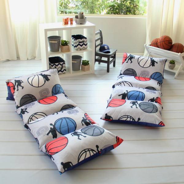 Pillow Bed - Basketball Print