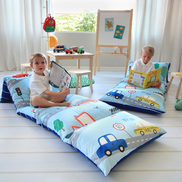 Pillow Bed - On the Move-Cars!!