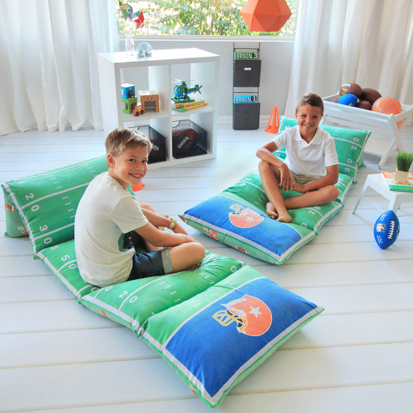 Pillow Bed - Football Print