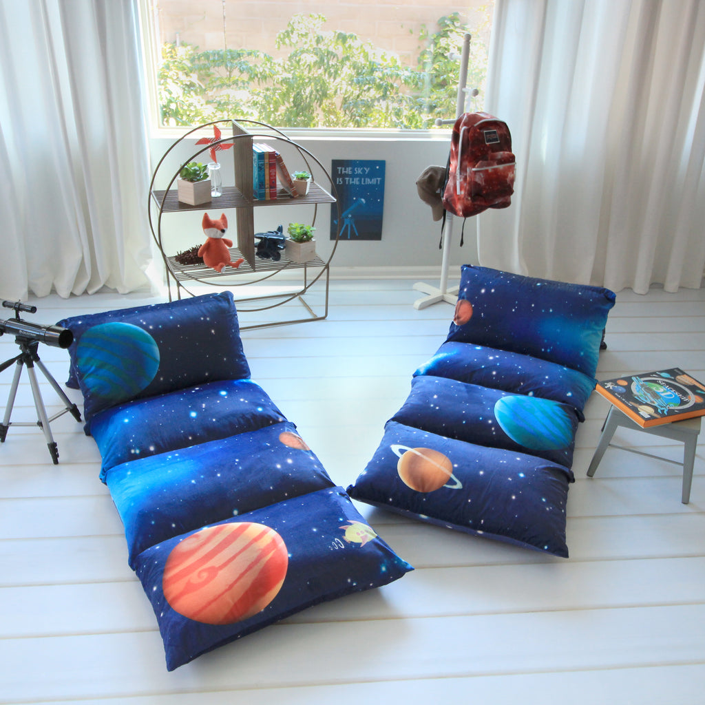 Pillow Bed -Outer space Print
