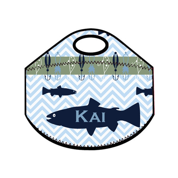 Lunch Tote - Style #49029 Gone Fishin' Print
