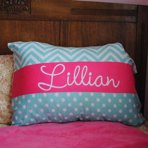 "Pillowcase - ""Maisy"" Print"