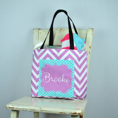 Pocket Beach Bag - Georgia Print