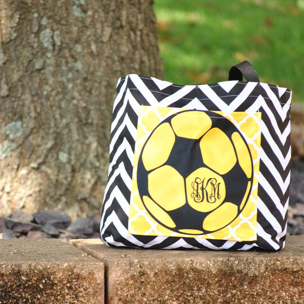 Pocket Tote - Style #411010 Gameday Print