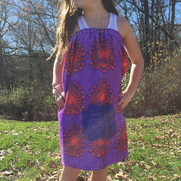 Youth Spa Wrap - Style #210012 Eleanor Print