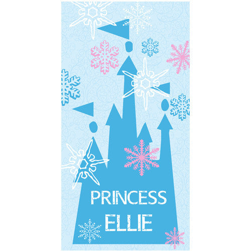 Beach Towel - Style #52048 Ice Princess Print
