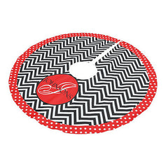 Personalized Tree Skirt - Style #73004 Holiday Print