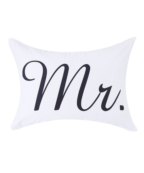 "Pillowcase - ""Mr"" Print"