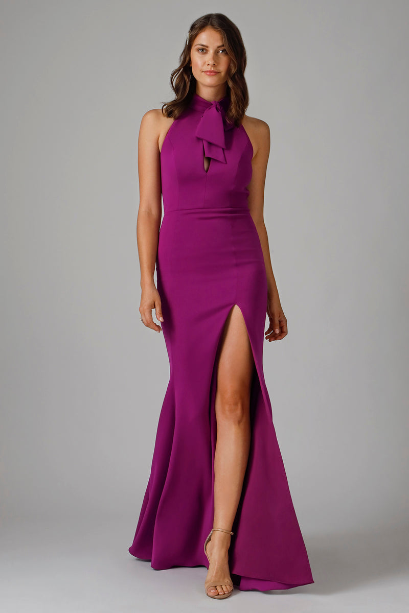CLARE HIGH NECK GOWN