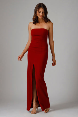 MARTELL STRAPLESS GOWN