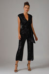 SUSIE SEQUIN JUMPSUIT
