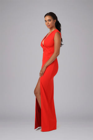 SIRENA WAIST DETAILED GOWN