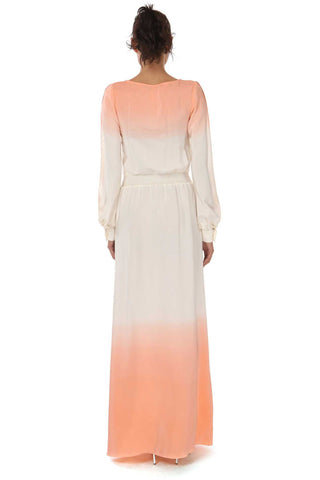 LARKIN OMBRE LONG SLEEVE DRESS